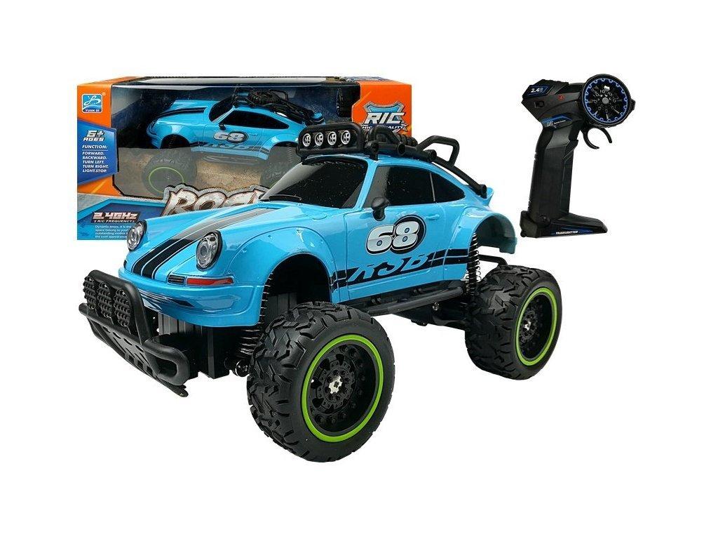 Brouk távirányítós autó 1:18 méretarányban kék