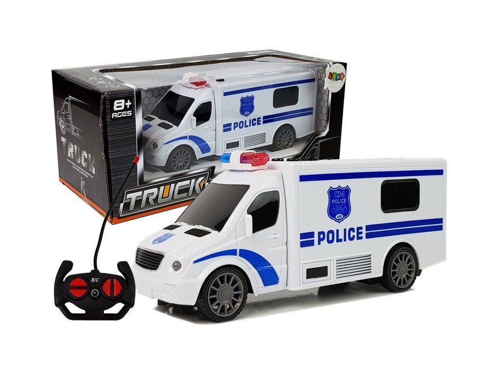 Police Truck távirányítós rendőrautó