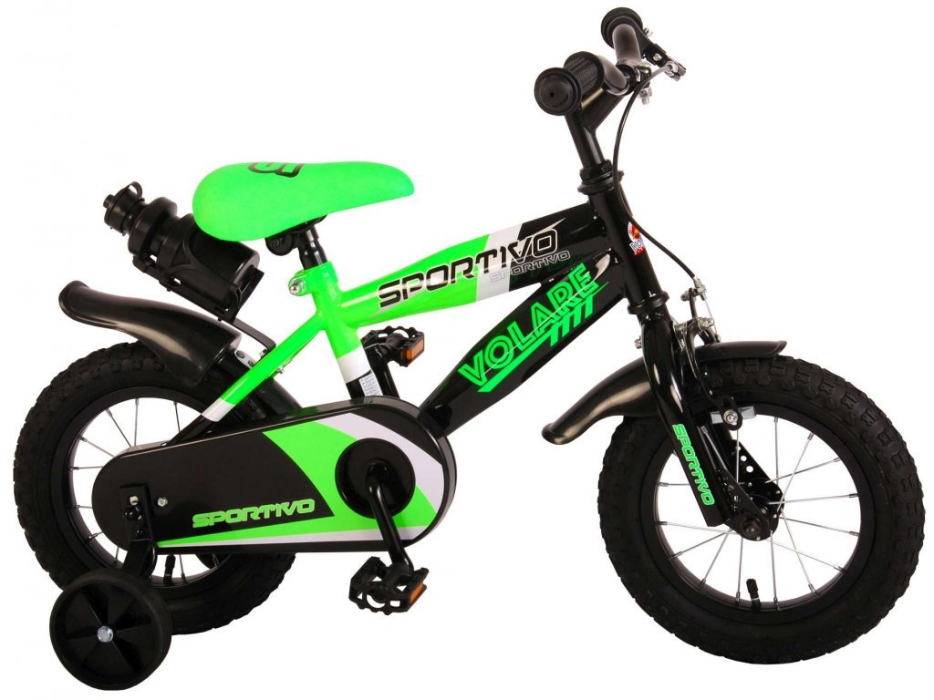 "Volare Sportivo Green 12 "" gyermekkerékpár"