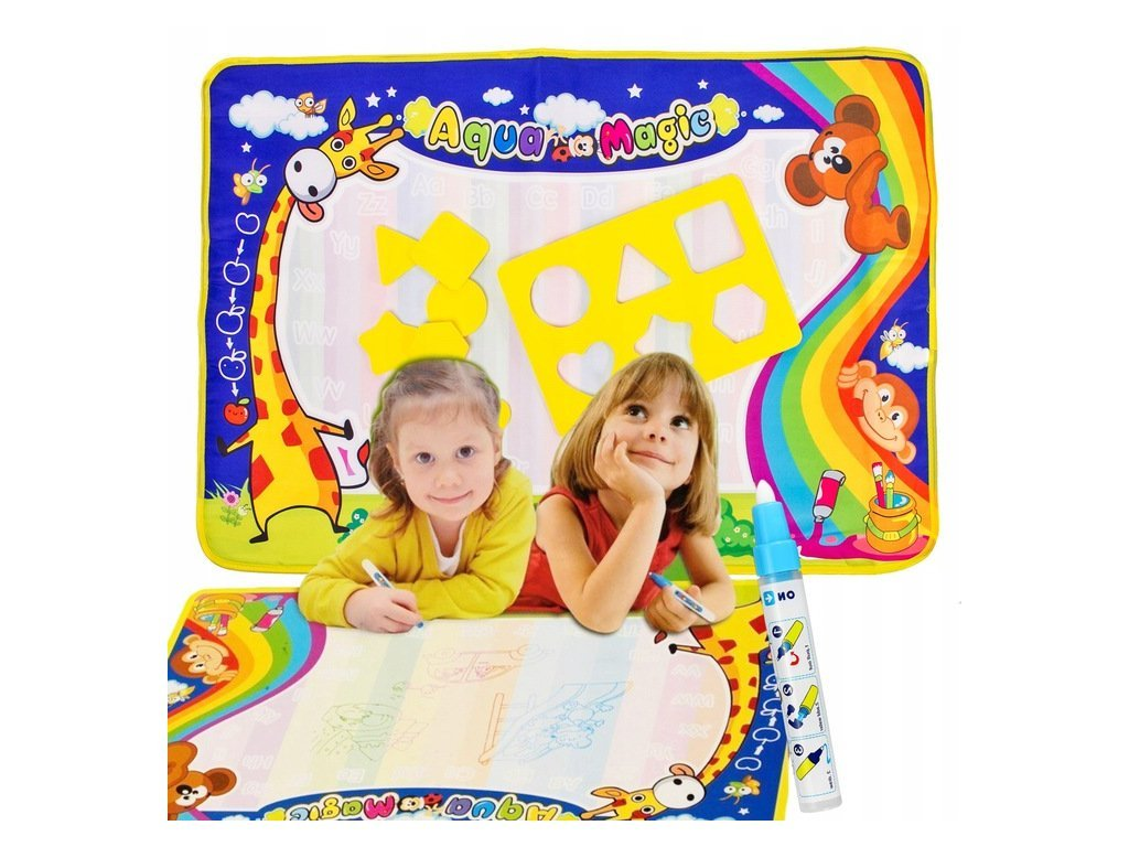 Doris Vizes rajzszőnyeg gyerekeknek Aqua Magic