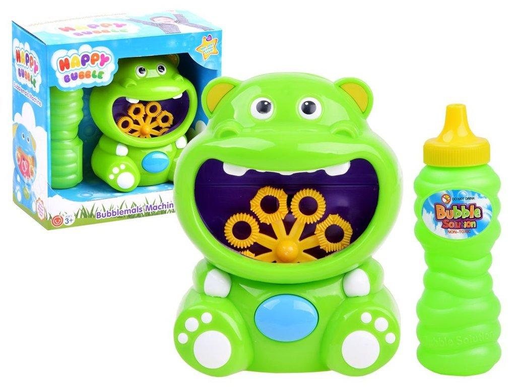 Majlo Toys Víziló buborékfújó gyermekjáték fürdőkádba