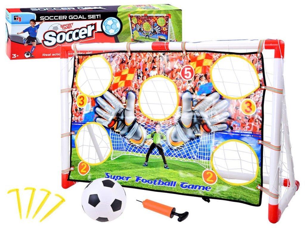 Majlo Toy Soccer Goals futball kapu labdával