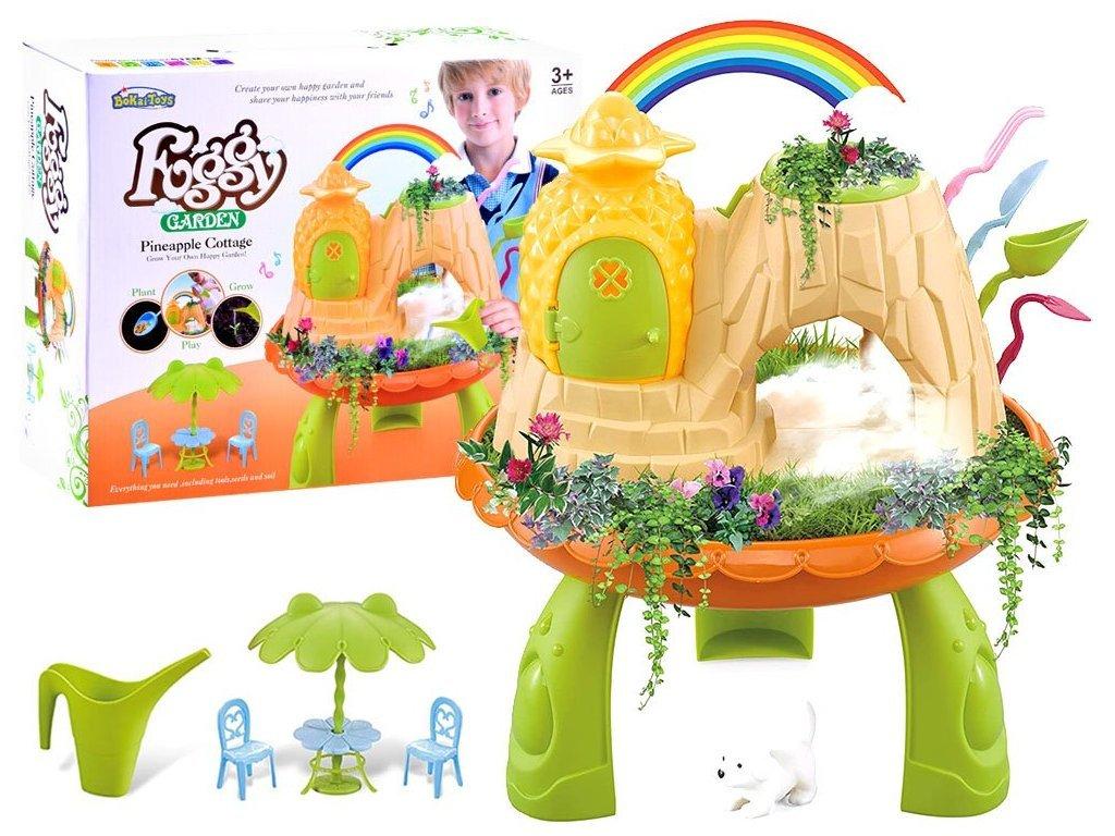 Majlo Toys Foggy Garden mágikus kert hangokkal és gőzzel