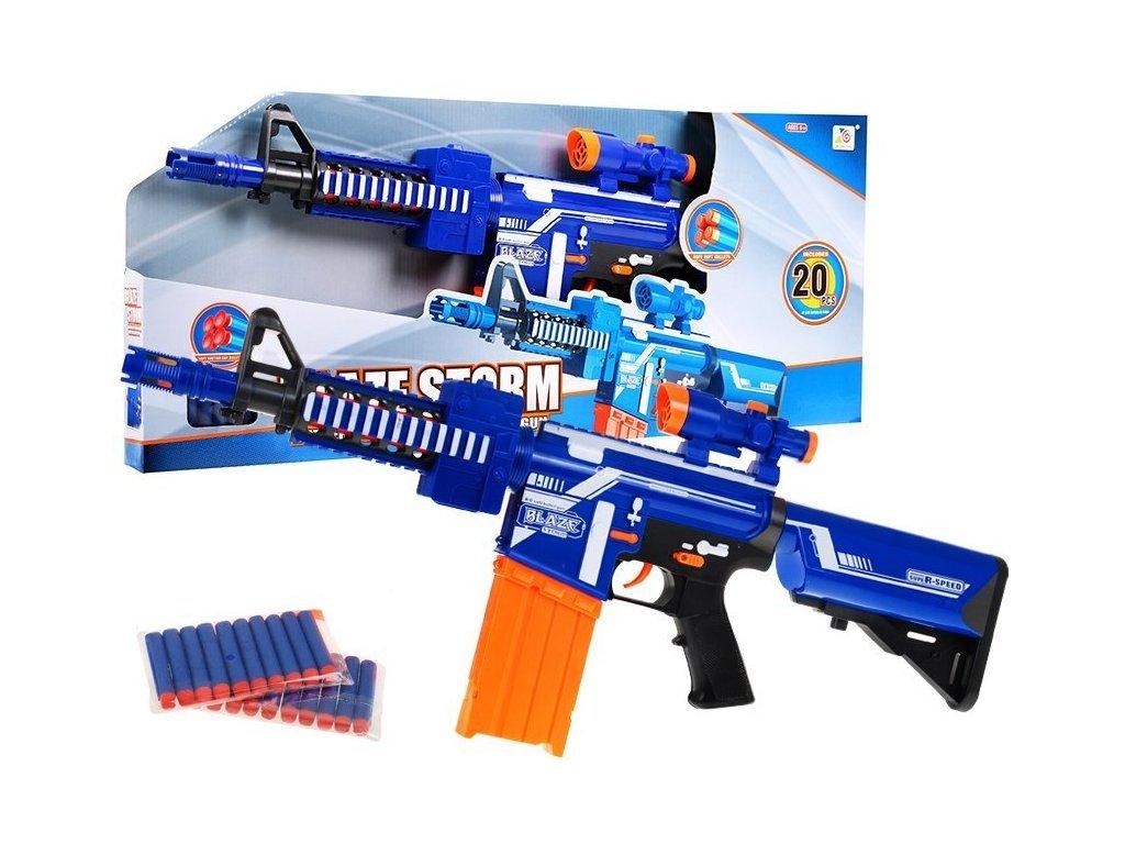Blaze Storm gyermek félautomata gépfegyver 20 tölténnyel