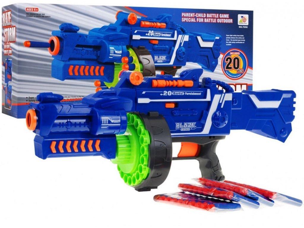 Blaze Storm Machine Gun gyermek félautomata gépfegyver 40 tölténnyel