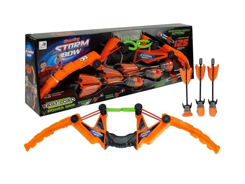 Blaze Storm Bow gyermek íj 3 nyíllal narancssárga