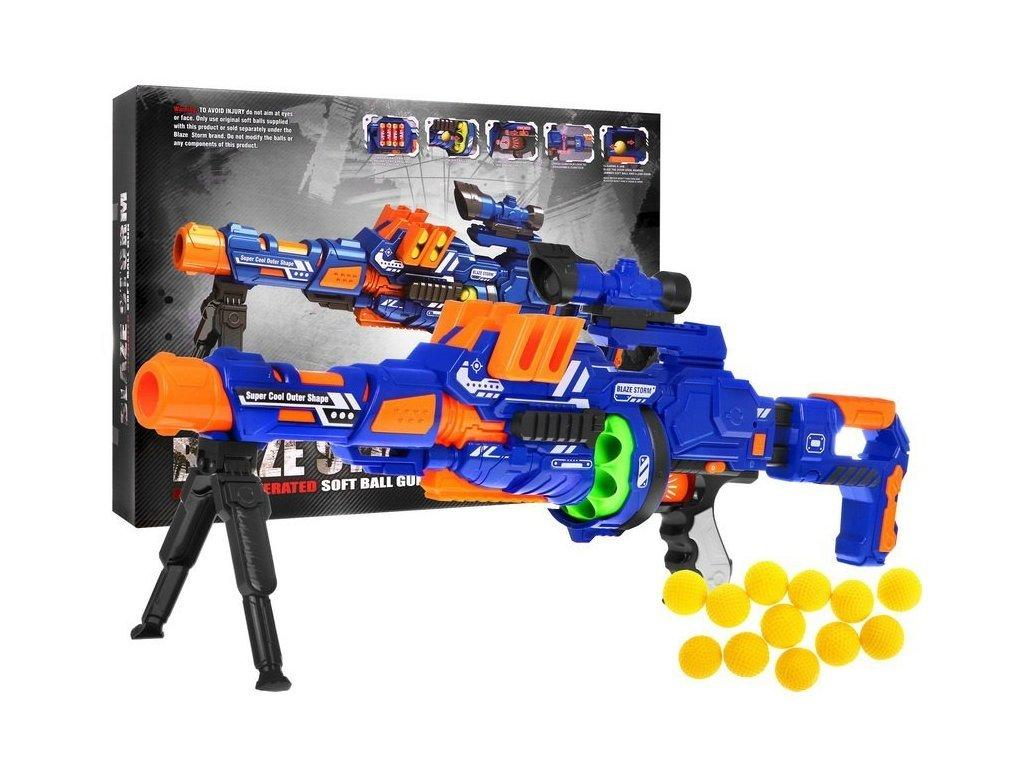 Blaze Storm nagy gépfegyver habgolyókkal