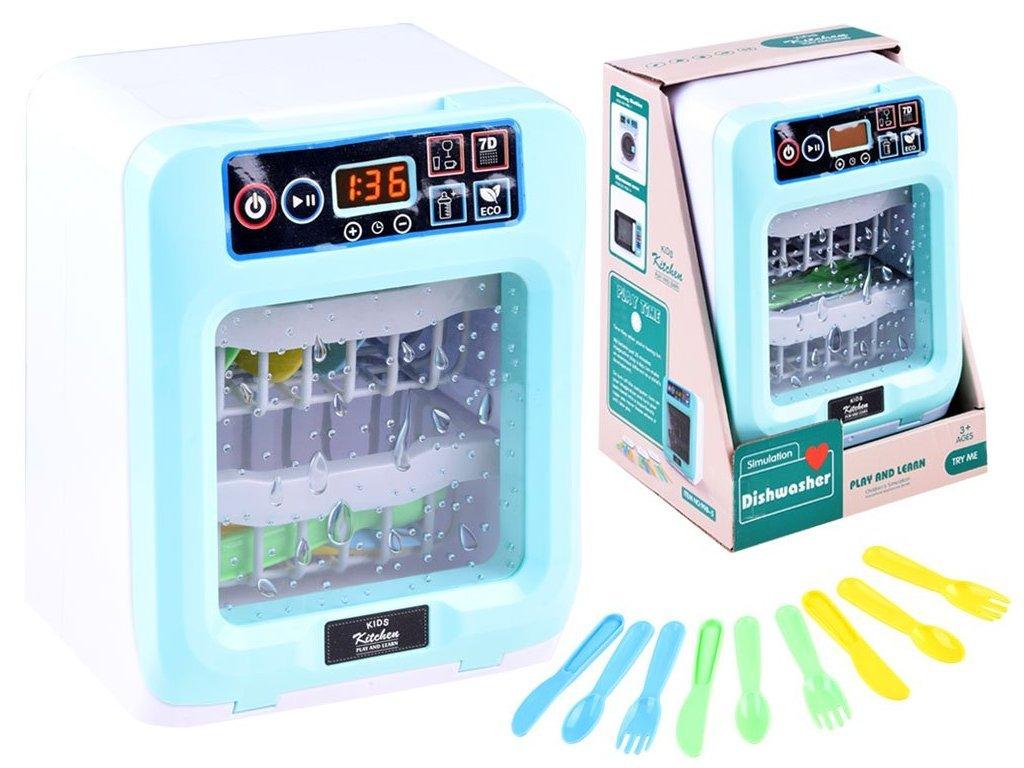 Majlo Toys Kids Dishwasher gyermek elemes mosogatógép