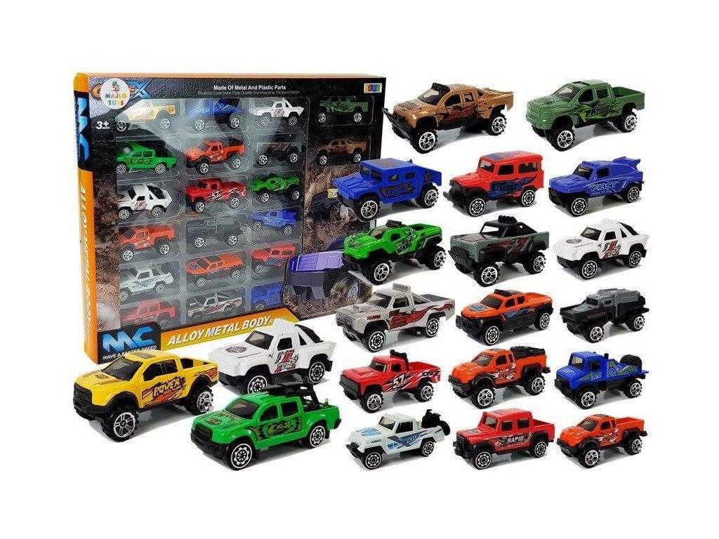 Majlo Toys Metal Cars 20 fémautó készlet