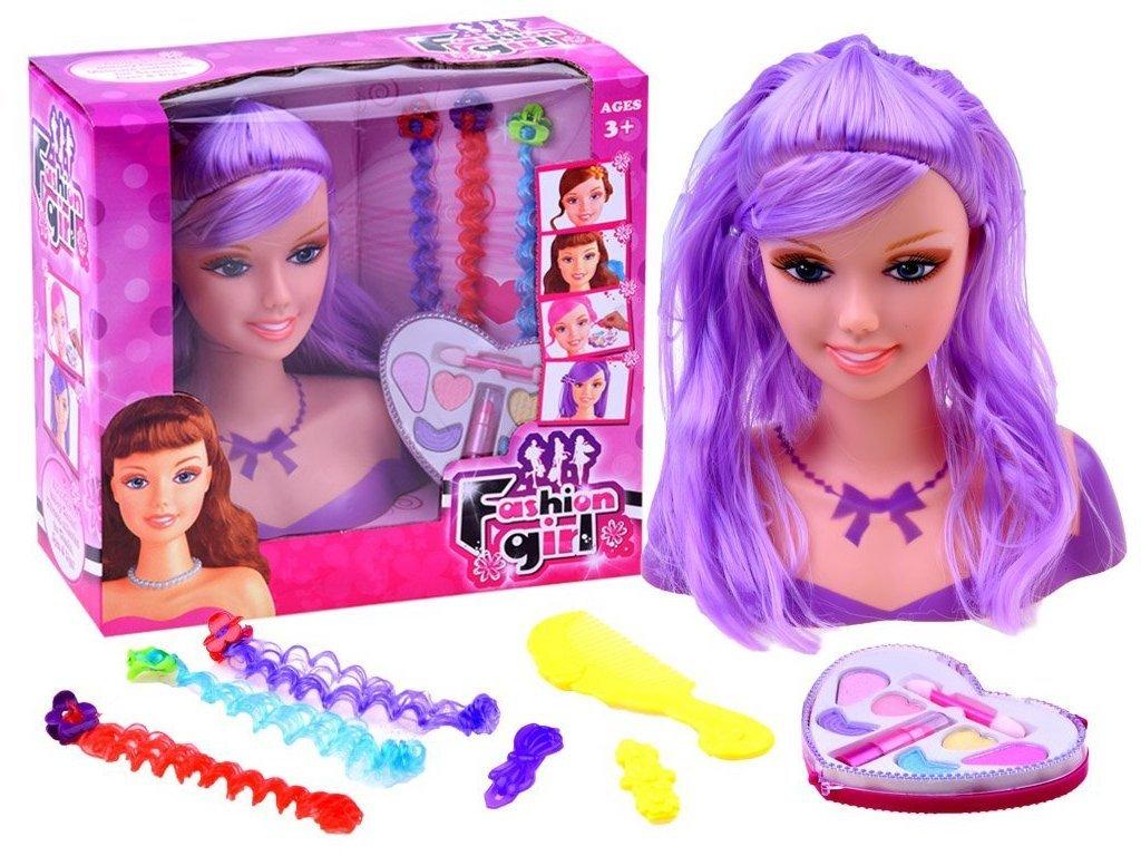 Majlo Toys Kis fodrász készlet kiegészítőkkel lányoknak