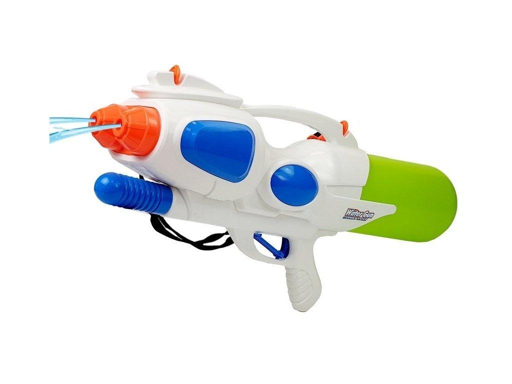 Gyermek vízipisztoly 2500 ml-es tartállyal Water Gun fehér