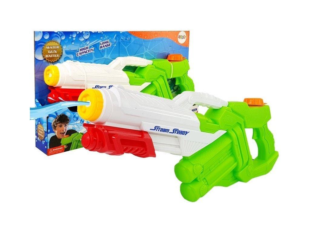 Gyermek vízipisztoly 1600 ml-es tartállyal Combat Water Gun