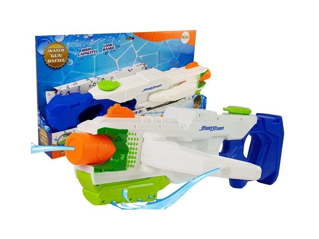 Gyermek vízipisztoly 1000 ml-es tartállyal Combat Water Gun