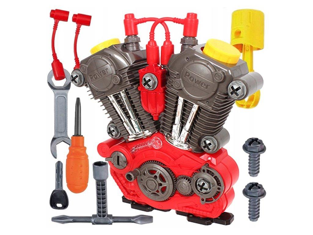 Doris csavarozható motor gyerekeknek Funny Engine zajjal