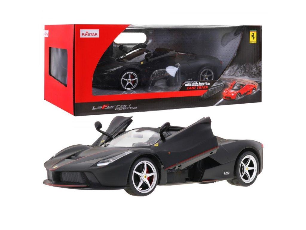 auto na dalkove ovladani Ferrari LaFerrari cerne 1 14
