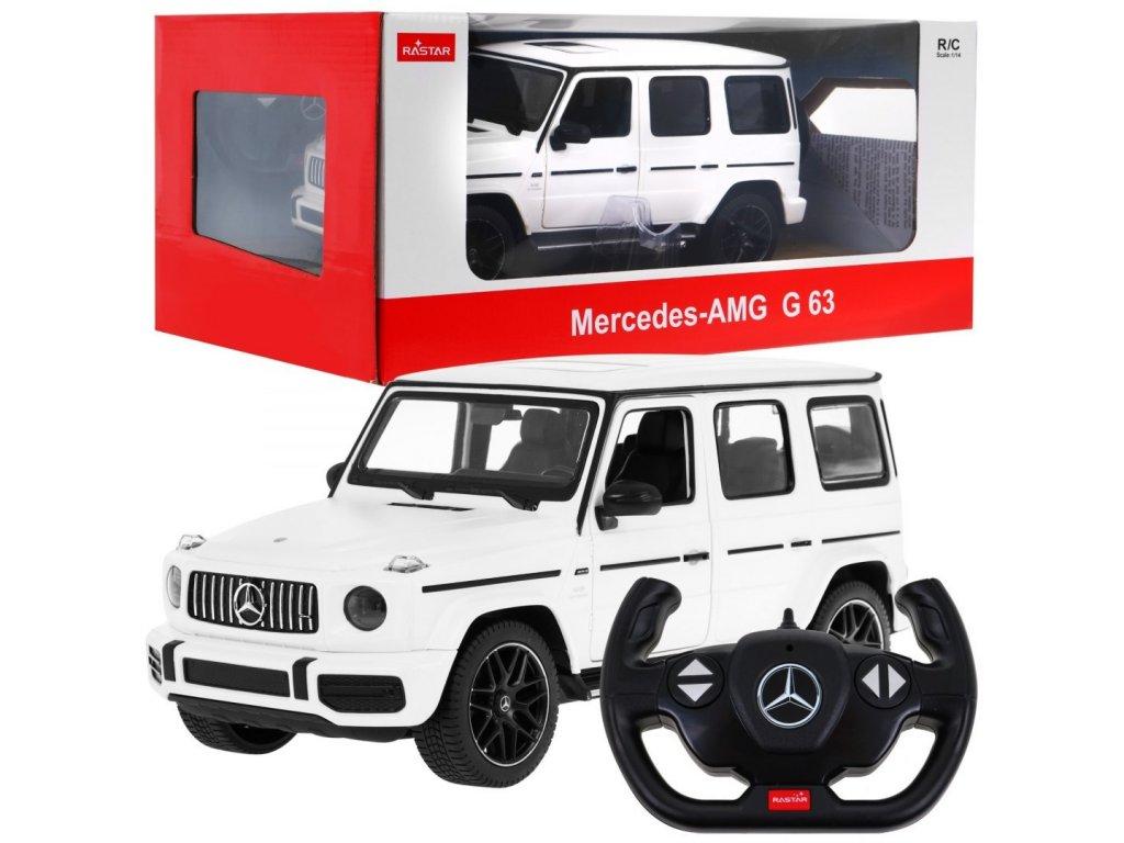 auto na dalkove ovladani Mercedes Benz G63 1 14 bile