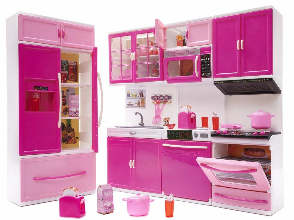 detska kuchynka Happy kitchen 4 casti
