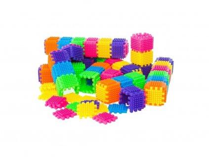 Doris Color Blocks színes építőkockák 182 db