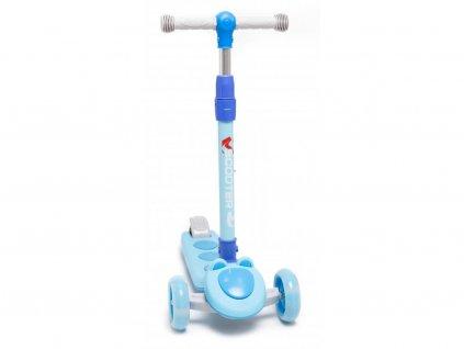 Majlo Toys gyermek roller Scooter világító kerekekkel kék