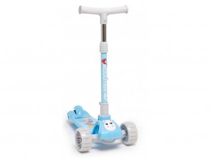 Majlo Toys  gyermek roller Little Giant világító kerekekkel kék