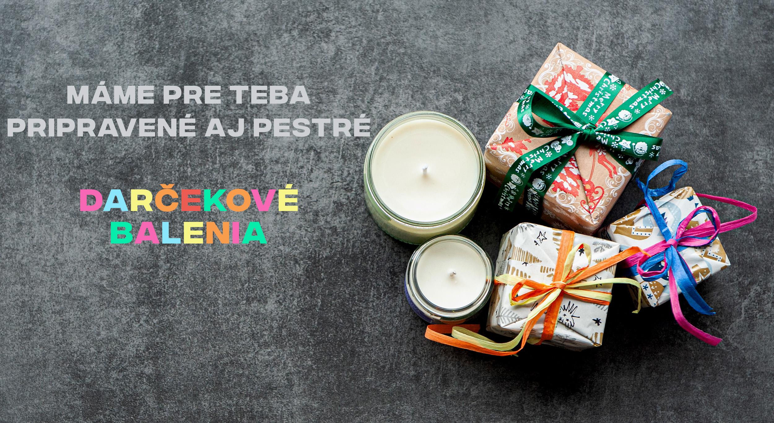 Prírodné voňavé sójové sviečky a darčekové balenia