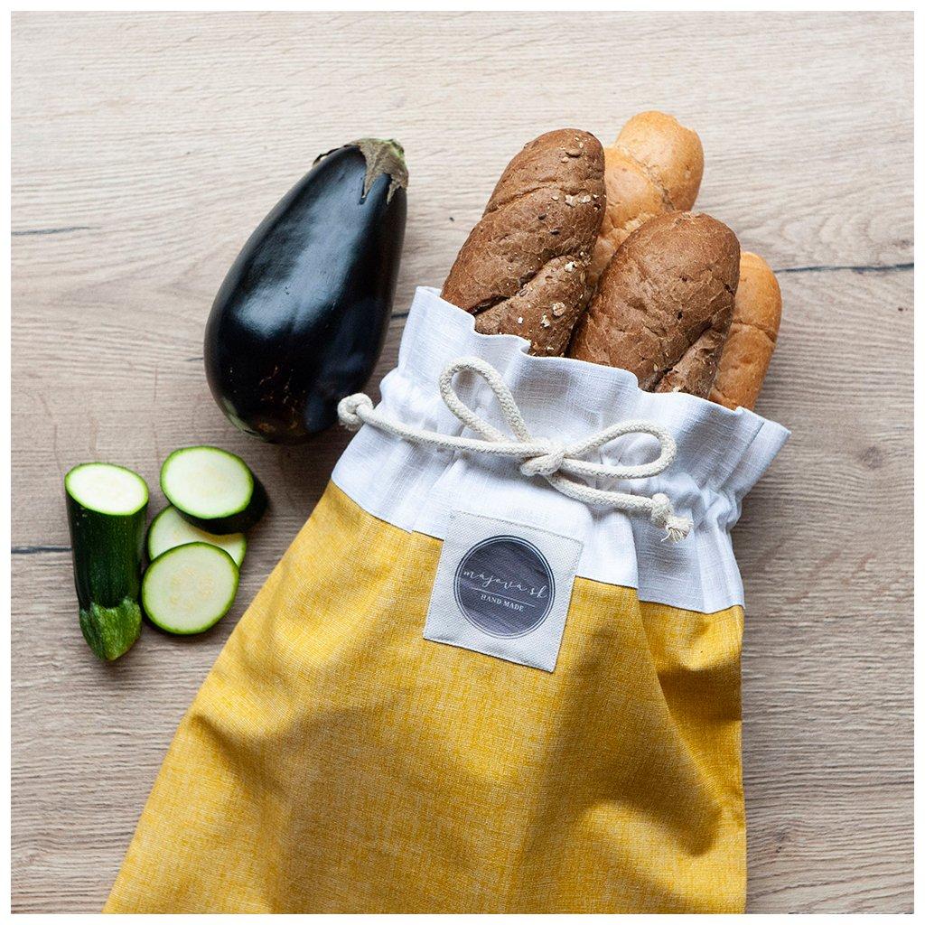 Ľanový chlebník horčicový