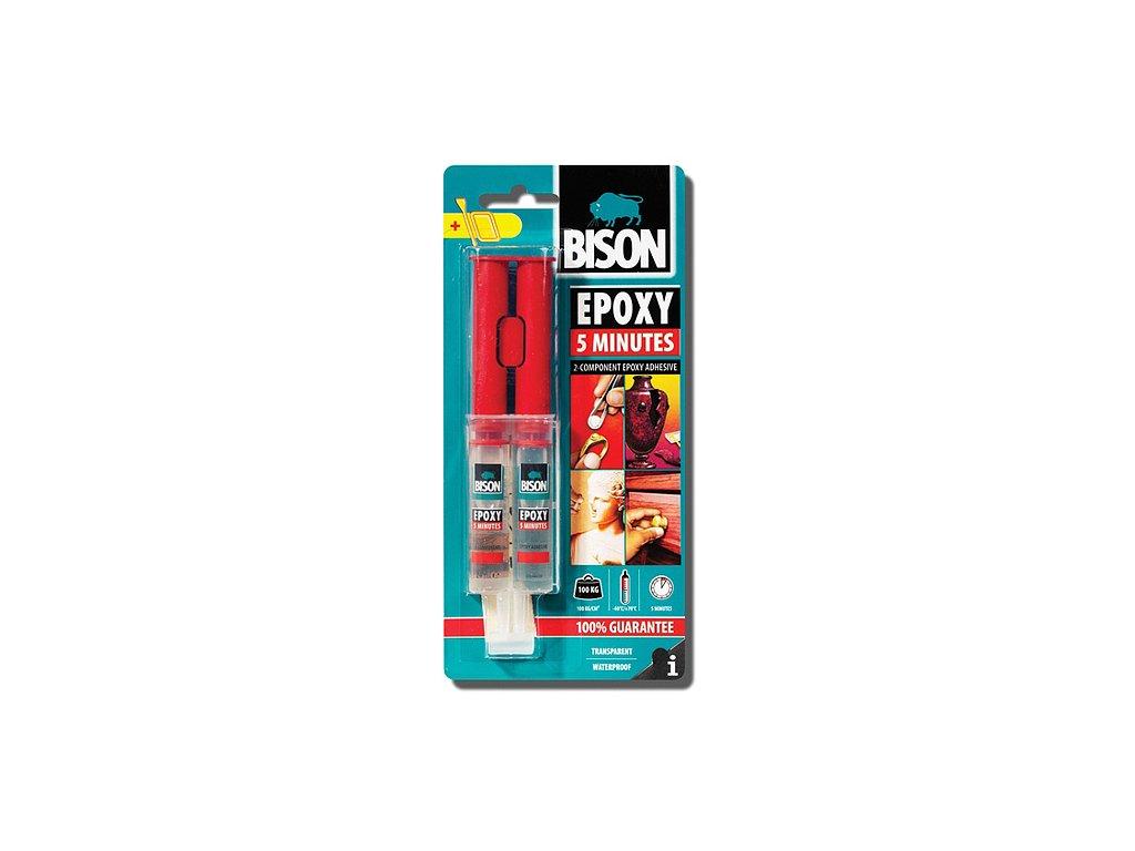 Lepidlo Bison Epoxy 5 minutes, 24 ml