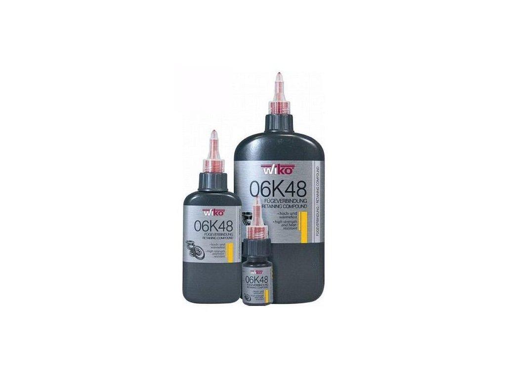 Lepidlo Wiko® 06K48, 10 ml, spojivo na zaistenie ložísk, vysoko odolne, teplovzdorné
