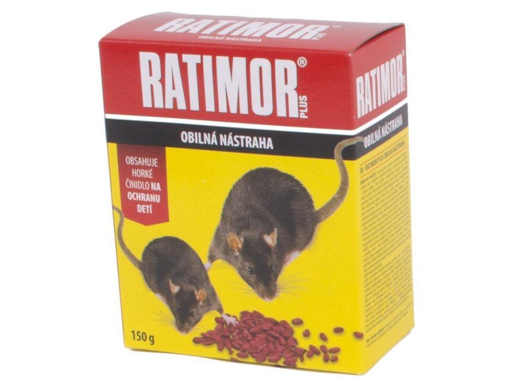 Navnada RATIMOR® Bromadiolon grain bait, 150 g, zrno