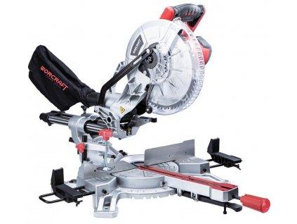 Pila Worcraft MS20-255, 2000W, 255x60T, 230V, pokosová s posuvom a laserom