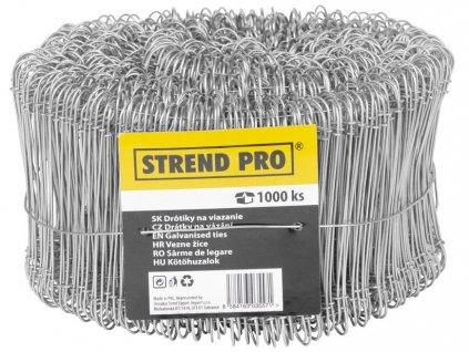 Drôt Strend Pro WGT10, 1.1x180 mm, na viazanie, 1000 ks