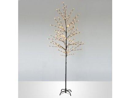 Strom MagicHome Cherry Tree,192 LED teplá biela, jednoduché svietenie, 230 V, 50 Hz, IP44, exteriér,