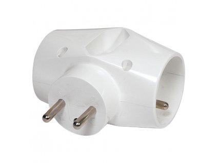 Zasuvka EMOS P0023, rozbočovacia, 2× 2P + PE + 1× 2P, 230V