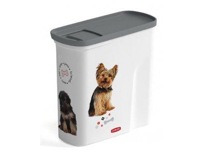 Nadoba Curver® PETLIFE 2L, na krmivo pre psa