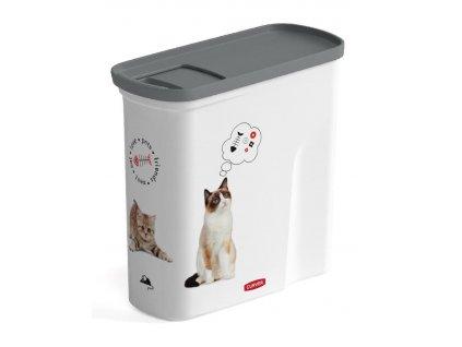 Nadoba Curver® PETLIFE 2L, na krmivo pre mačku