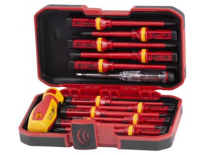 Sada skrutkovačov Strend Pro SDX61-113, 12 dielna +1 skúšačka, elektrikárska