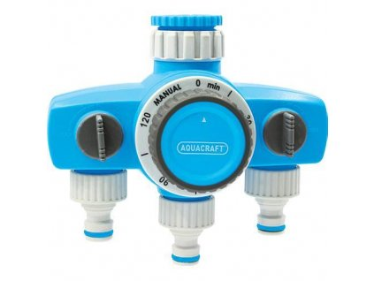Casovac AQUACRAFT® 290030, 3-rozbočovač, max. 120 min