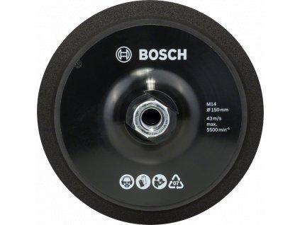 Oporný tanier M14, priemer 150 mm, so systémom upínania na suchý zips Priemer = 150 mm