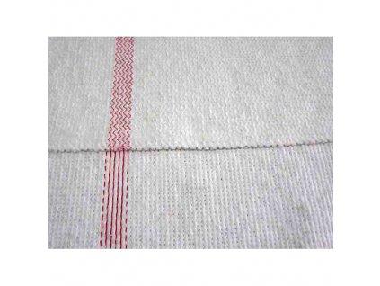 Handra Renata 700x500 mm, netkaná, biela
