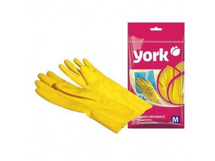 Rukavice York 092020, (M), žlté, pre domácnosť