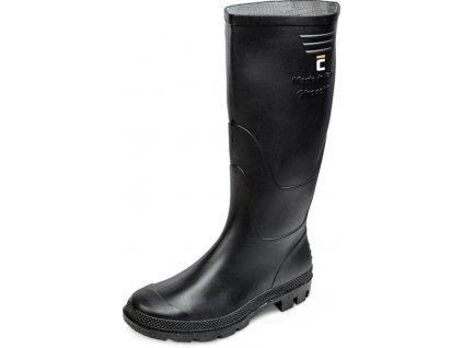 Cizmy boots Ginocchio, čierna 46, Pvc, záhradné
