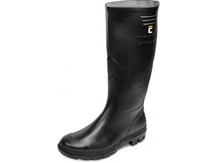 Cizmy boots Ginocchio, čierna 47, Pvc, záhradné