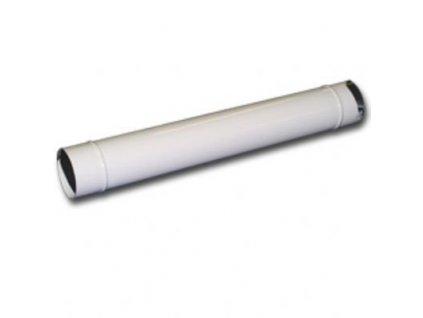 Rura 120mm 0,5m smalt biela