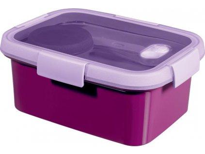 Box Curver® SmartTOGO Lunch kit 1.2L, fialový