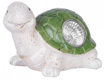 Lampa solárna korytnačka, 17x13x13 cm, 1 LED, AA