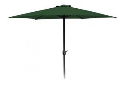 Slnecnik 270cm zeleny MANGO, s klukou