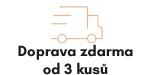Doprava zdarma se projeví po vložení 3 kusů majtek do košíků.