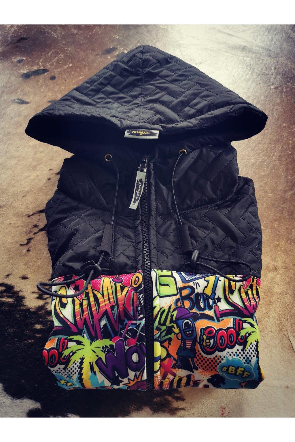 Softshellová bunda Graffiti
