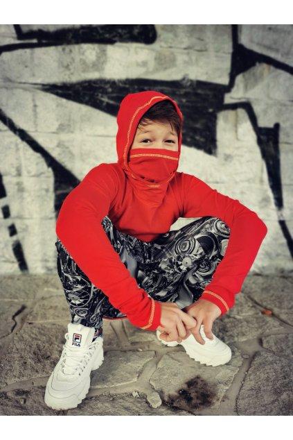 Triko Ninja - červené
