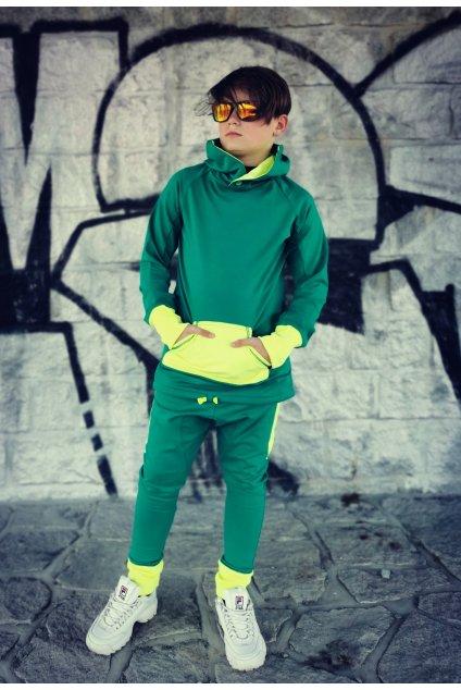 Mikina Green - neon